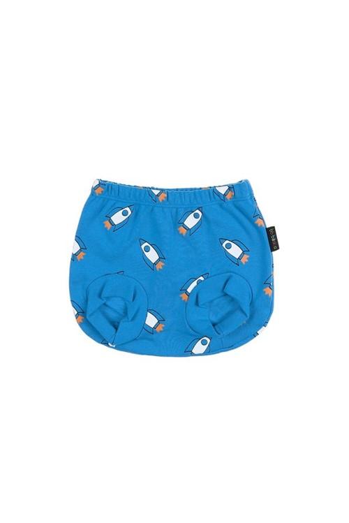 Tapa Fralda Bb Foguetes M - Azul