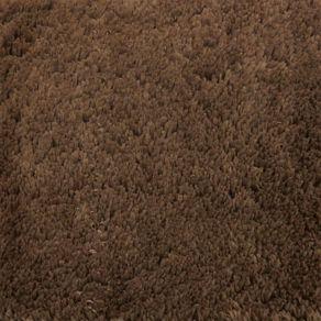 Tapete 100X140cm Liso Vip Chocolate Jolitex