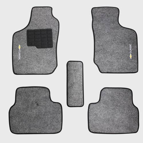 Tapete Carpete Grafite Chevrolet Corsa Classic 2003 à 2015