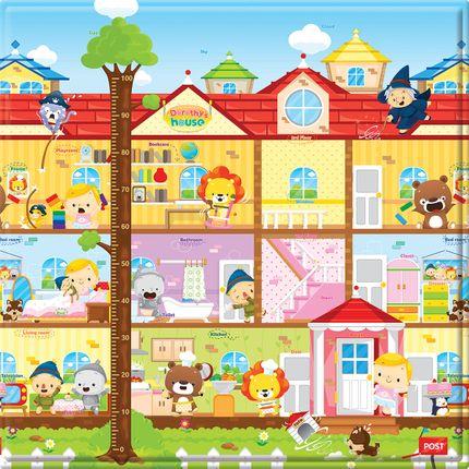 Tapete de Atvidades para Bebê Baby Play Mat Dorothy's House (4m+) - Safety 1st