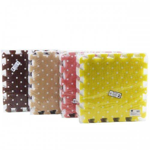 Tapete EVA 31X31CM (8PCS) COLOR SORT