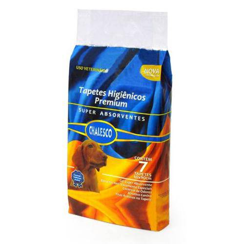 Tapete Higienico Chalesco Premium C/ 7