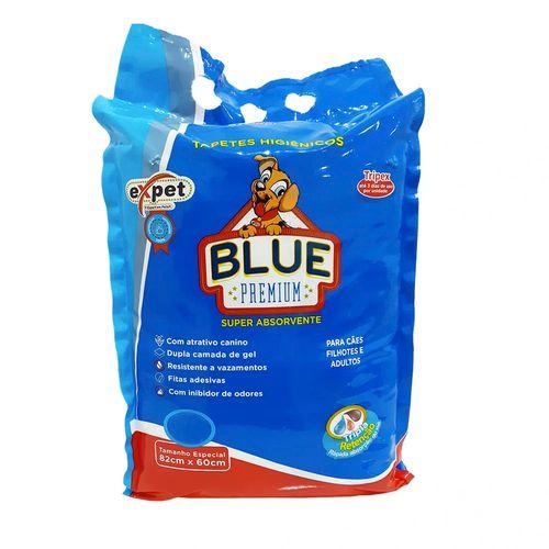 Tapete Higiênico Expet Blue Premium Triplex para Cães 7 Unidades