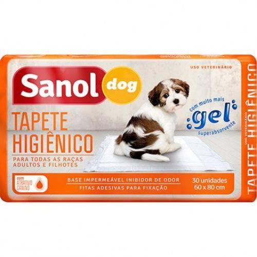Tapete Higiênico para Cães Sanol Dog - 30 Unidades