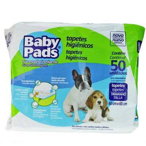 Tapete Higiênico Petix Baby Pads 50 Unidades