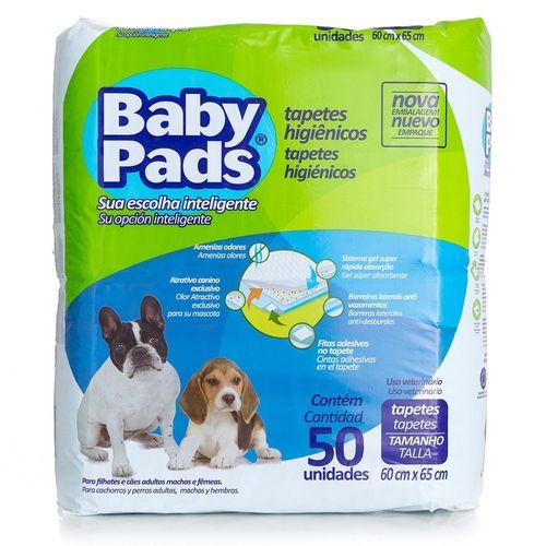 Tapete Higiênico Petix Baby Pads para Cães Filhotes 50 Unidades
