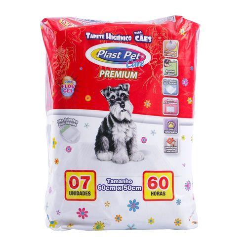 Tapete Higiênico Plast Pet Care Premium para Cães 7 Unidades