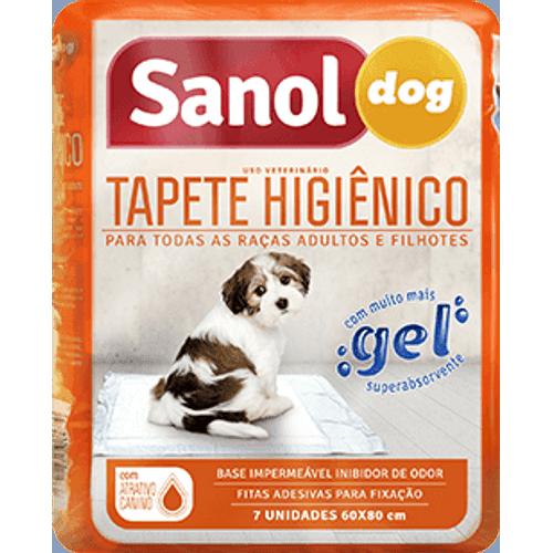 Tapete Higiênico Sanol Dog para Cães 7 Unidades