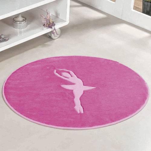 Tapete para Quarto Infantil de Menina Bailarina Pink 78cm