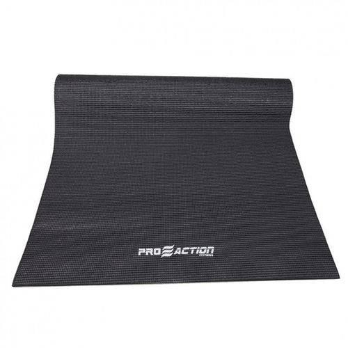 Tapete ProAction G162 para Yoga Mat em PVC Preto