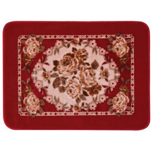 Tapete Raschel Orient Floral 60cm X 90cm Jolitex