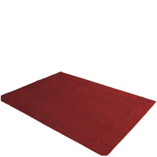 Tapete Retangular Liso Bella Jolitex 1,00mx1,40m Vermelho
