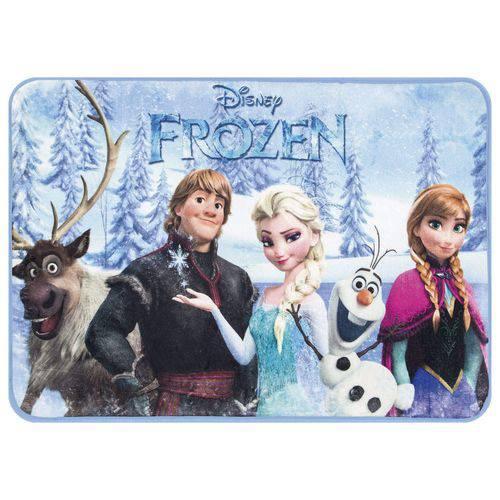 Tapete Retangular para Quarto InfantilRaschel Sublimado Disney Frozen 70cmx100cm Jolitex