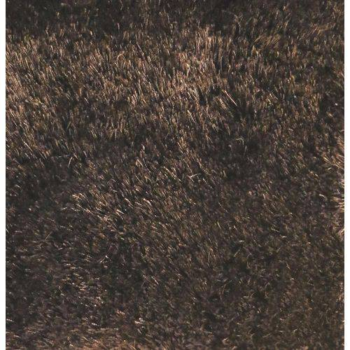 Tapete Touch Liso 100x140 Cm Marrom
