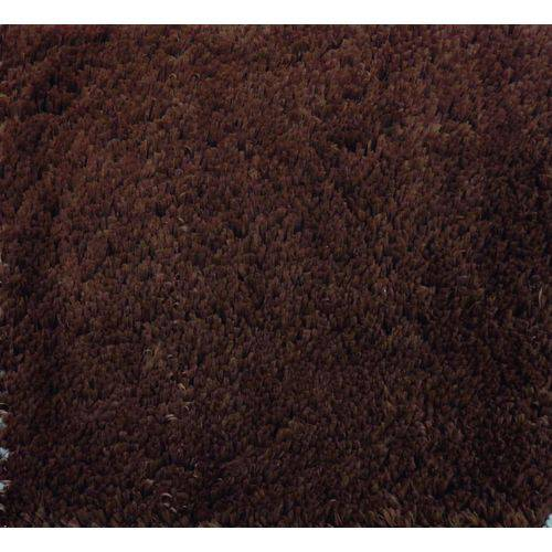 Tapete VIP Liso 100x140 Cm Chocolate