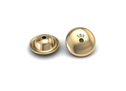 Tarracha de Ouro 8mm (unidade) Tarracha de Ouro 8mm Ouro Amarelo (unidade)