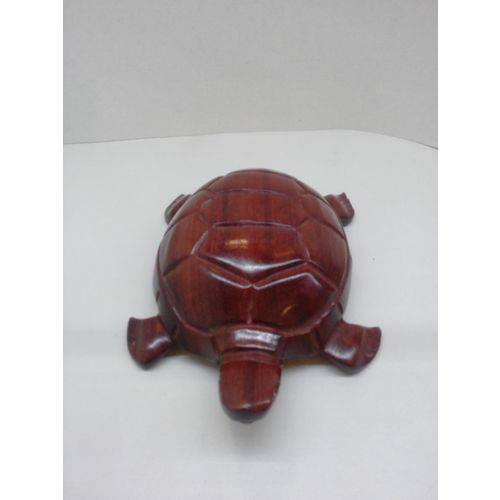Tartaruga de Madeira Artesanal