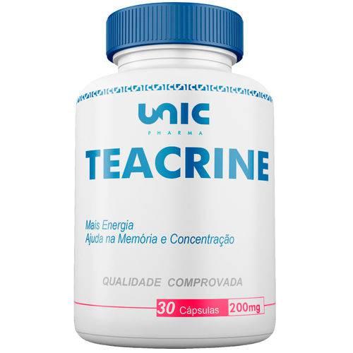 Teacrine 200mg 30cáps Unicpharma