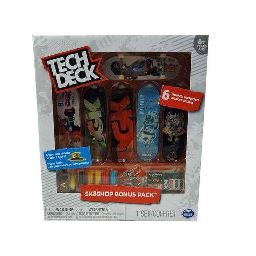 Tech Deck - Sk8 Shop Bonus Pack Sortidos - Br339 (199704)