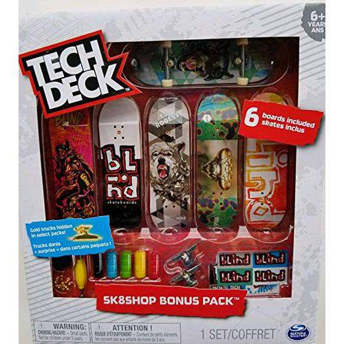Tech Deck - Sk8 Shop Bonus Pack Sortidos - Br339