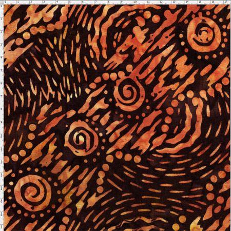 Tecido Batik para Patchwork - Cor 027 (0,50x1,10)