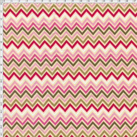 Tecido Estampado para Patchwork - Baby Rosa Cor 2146 (0,50x1,40)