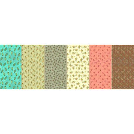 Tecido Estampado para Patchwork - Caipira Cor 02 (0,50x1,40)