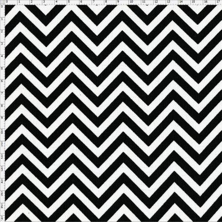 Tecido Estampado para Patchwork - Chevron Cor 06 (0,50x1,40)