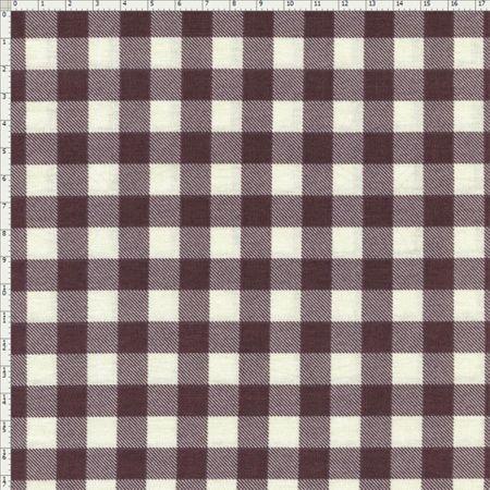 Tecido Estampado para Patchwork - Coleção Homens da Casa Xadrez Cor 01 (0,50x1,40)