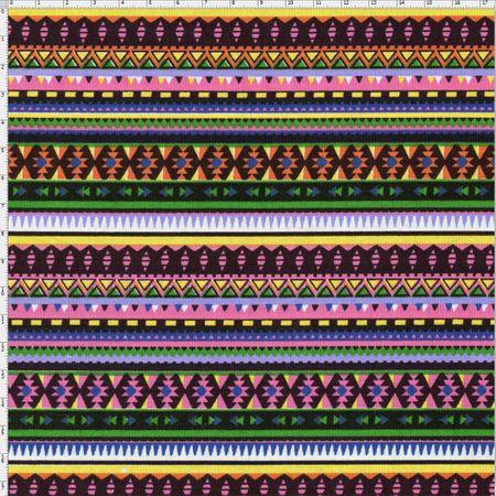 Tecido Estampado para Patchwork - Coleção Indiana Indira Cor 01 (0,50x1,40)