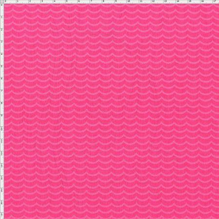 Tecido Estampado para Patchwork - Coleção Indiana Ondas Cor 02 (0,50x1,40)