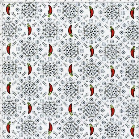 Tecido Estampado para Patchwork - Composê Sweet Pepper Cor 1648 (0,50X1,40)