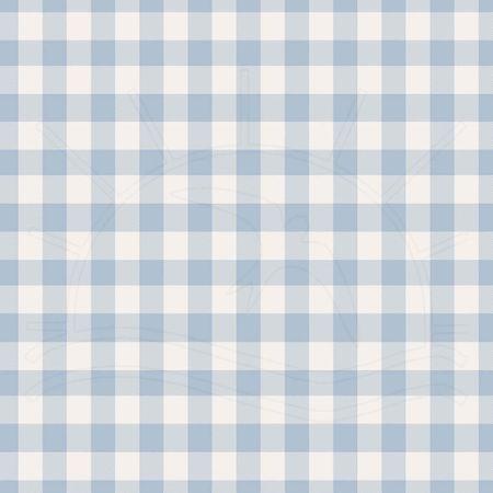 Tecido Estampado para Patchwork - Fio Tinto Xadrez Vichy 1,0cm Azul Bebê (0,50x1,40)