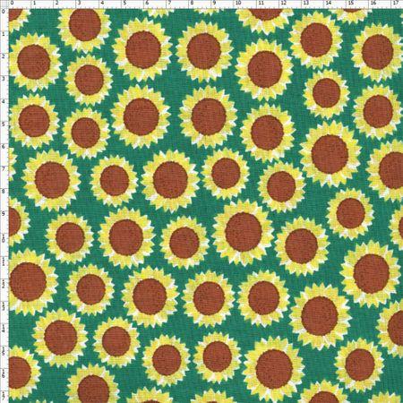 Tecido Estampado para Patchwork - Flor Ana Cor 01 (0,50X1,40)