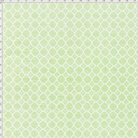 Tecido Estampado para Patchwork - Floral Veneza Rosa e Verde Cor 1938 (0,50x1,40)