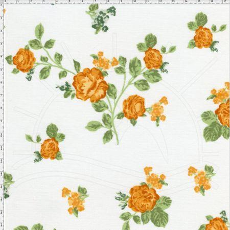 Tecido Estampado para Patchwork - Fluorita Amarelo Cor 1 (0,50x1,40)