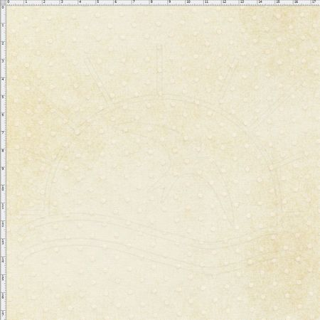 Tecido Estampado para Patchwork - Millyta Four Seasons Poá Fundo Bege (0,50x1,40)