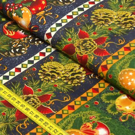 Tecido Estampado para Patchwork - Natal Elegante Cor 2198 (0,50x1,40)