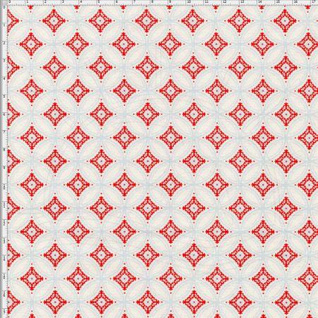 Tecido Estampado para Patchwork - Natal Merry Christmas Cor 1835 (0,50x1,40)