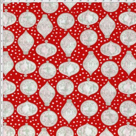 Tecido Estampado para Patchwork - Natal Merry Christmas Cor 1837 (0,50x1,40)