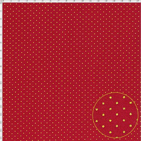 Tecido Estampado para Patchwork - Natal Poazinho Cor 11 (0,50x1,40)