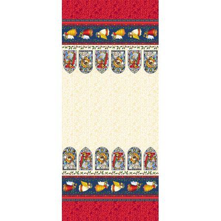 Tecido Estampado para Patchwork - Natal Vitral Cor 1865 (0,50x1,40)