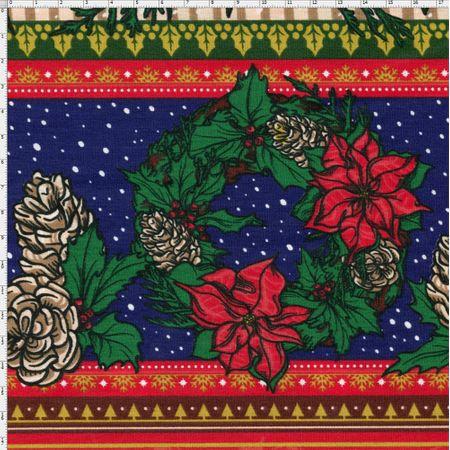 Tecido Estampado para Patchwork - Noite de Natal Cor 2044 (0,50x1,40)