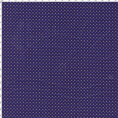 Tecido Estampado para Patchwork - Poá Irregular Cor 01 (0,50x1,40)