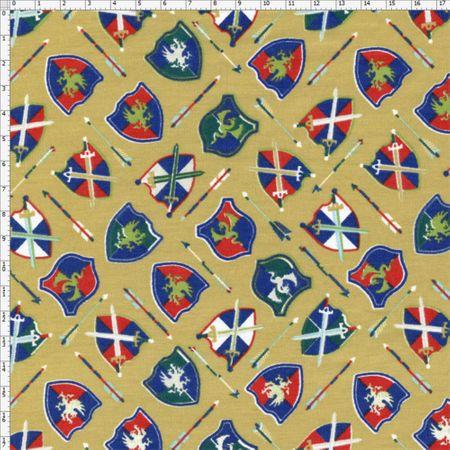 Tecido Estampado para Patchwork - Príncipes Cor 2083 (0,50x1,40)