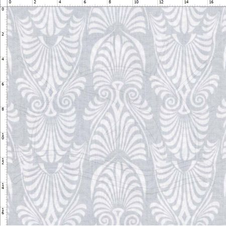 Tecido Estampado para Patchwork - Tons de Cinza 30655 Art Deco 01 (0,50X1,40)