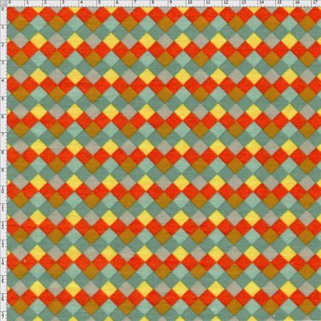 Tecido Estampado para Patchwork - Utensílios Cozinha Cor 2027 (0,50x1,40)