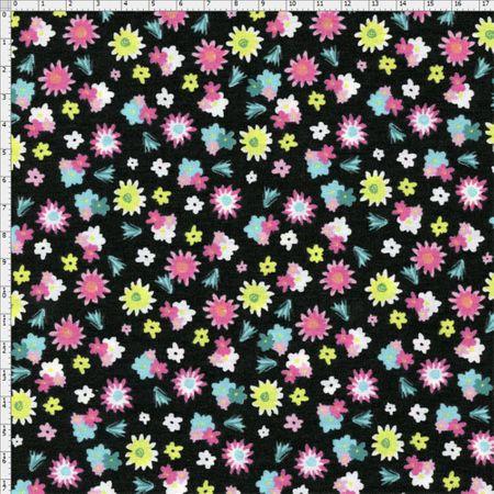 Tecido Estampado para Patchwork - Viva México Florzinhas Cor 01 (0,50x1,40)