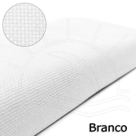 Tecido Etamine Cores Estilotex (0,50x1,40) 01 - Branco