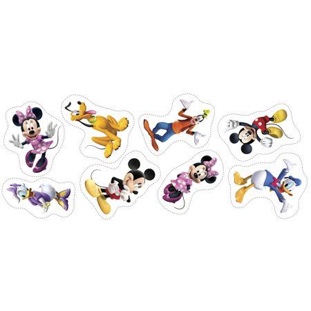 Tecido para Almofada - Coleção Disney Naninhas Mickey e Minnie (0,60x1,40)